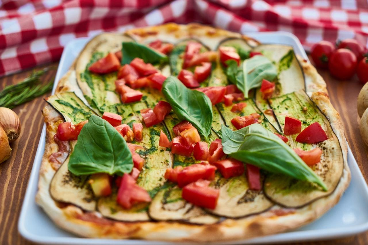 Pizza kupowana z pomocą Internetu