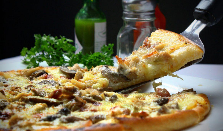 Pizza zamawiana przez Internet